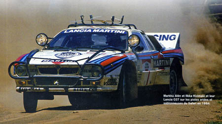 Rallye in Ostafrika: Nächste Ausbaustufe 037 - Alen/Kivimäki 1974 - Platz 4