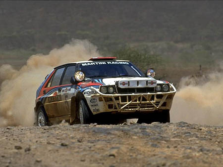 Rallye in Ostafrika: 1992 - das Ende der Geschichte: Recalde/Christie Platz 5 auf dem Delta