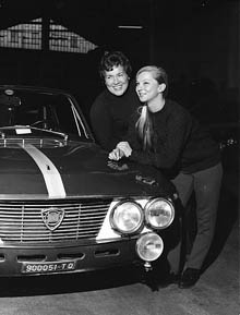 Pat Moss-Carlsson/Elisabeth Nyström 1967 - Daniele Audetto