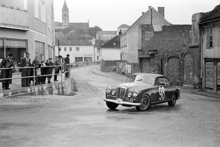 Lancia Aurelia B20: Semperit Rallye 1958 - Drei Jahre nach dem Staatsvertrag im Osten Österreichs