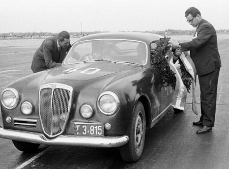 Lancia Aurelia B20: 1. Flugplatzrennen in Wien-Aspern 1957