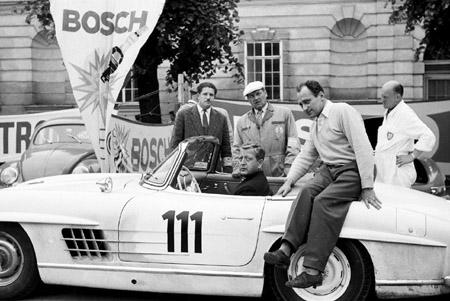 Semperit Rallye 1959 - als Beifahrer von Dr. Gunther Philipp im 300 SL