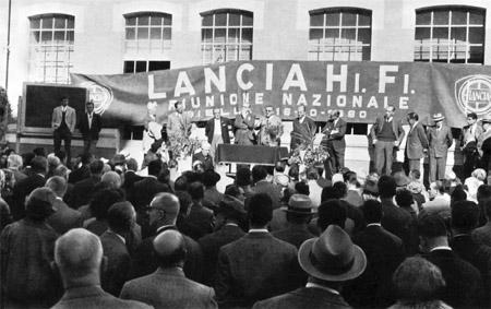 """Hi.Fi.-Club: 2. Treffen der """"Wenig-Lancia-Eigentümer"""" 1961"""