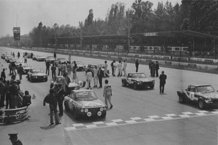 Das Gianni Tonti Buch: 999 Minuti 1973: Ballestrieri/Maiga 1. Startreihe in Monza