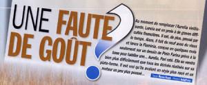 Gazoline und Autoretro April 2014 Une faute de gout?