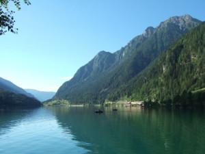 Lancia Club Suisse Frühlingstreffen: Lago di Poschiavo bei Le Prese