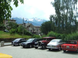 Lancia Club Suisse Frühlingstreffen: Unaufgeregt bunt gemischt, die Schweiz ist anders!