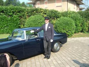 16. Treffen der Fulvia-Freunde: Organisator und Chauffeur für ausgewählte Gäste - Getulio Ferri