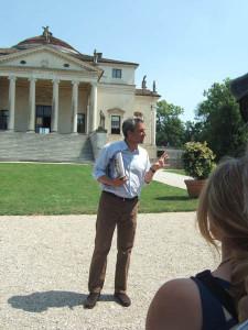 Palladio-Prunkstück Villa Rotonda mit kompetenter Führung durch den Eigentümer Conte Nicoló Valmarana