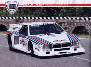 Automobilismo D'EPOCA Juli 2014: Lancia erfolgreich auf den Rennstrecken - Beta Montecarlo Turbo Gruppe 5