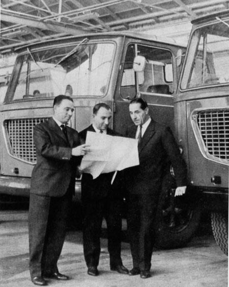 Lancia and De Virgilio: 1962 Esagamma-LKW: Romanini - Gilio - De Virgilio