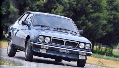 Automobilismo D'EPOCA Agosto/Settembre 2014: Die Front des Lancia Beta HPE