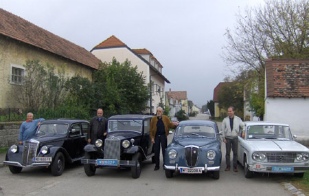 Lancia Ausfahrt: Die kleinen Berlinas: Aprilia - Augusta - Appia - Fulvia