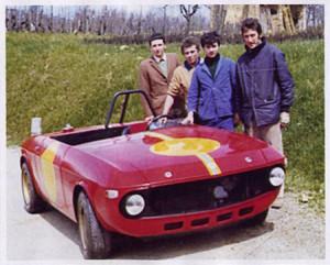 "Routeclassiche: Claudio Maglioli, rechts vorne, ""Vater"" des F&M Special 1969"