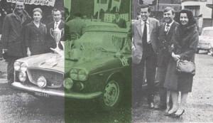 Doppelsieg in Frankreich 1964 - Cesare Fiorio strahlt berechtigterweise