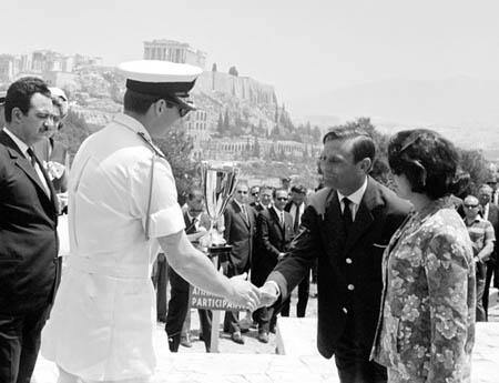 Akropolis Rallye 1965 3. Platz für R. Trautmann/C. Bouchet (Foto McKlein)