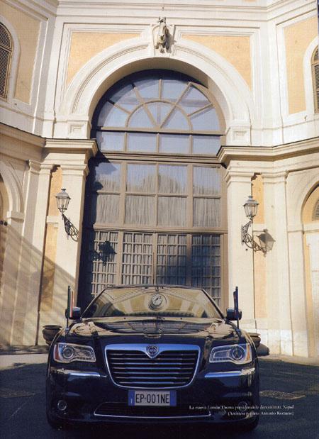 Tutte le Auto dei Presidenti: Lancia Thema - ab 2012