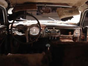 Lancia Aurelia B20 GT Barn Find im Maßstadt 1:5