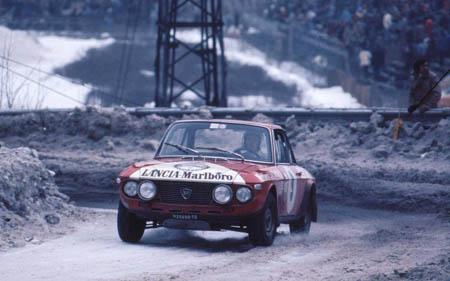 Lancia Fulvia im Schnee - 1974: 24 Stunden von Chamonix - Sieger Ballestrieri/Lampinen