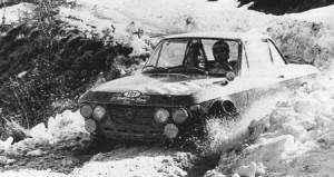 Lancia Fulvia im Schnee - 1967: Rallye dei Fiori Munari/Lombardini - ausgeschieden