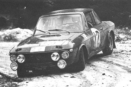 Lancia Fulvia im Schnee - 1969: Harry in a hurry, der erste von zwei Siegen bei der RAC