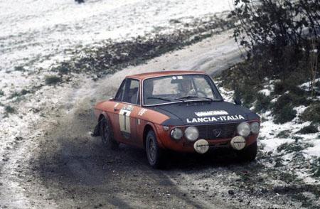 Lancia Fulvia im Schnee - 1971: Simo Lampinen/Sölve Andreasson - Platz 6