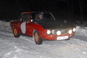 Lancia Fulvia im Schnee - Waldviertel Winter Classic: Matthäus Russegger - 1,3 S