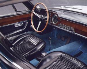 Lancia Flaminia 3C Speciale: Interieur