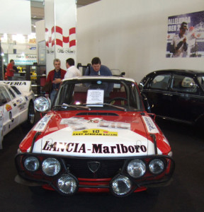 Sandro Munari's Lancia Fulvia Safari 1974: Padua Oktober 2013