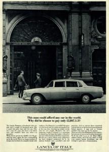 Marken- und Geschichtsbewusstein: Lancia
