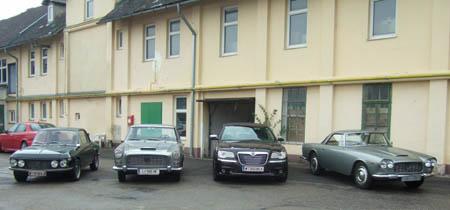 Lancia Flaminia Coupé: Fuhrpark