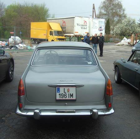 Lancia Flaminia Coupé: Heckansicht
