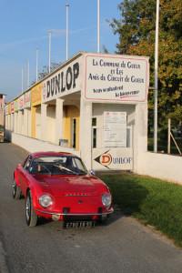 Matra in Reims-Gueux - Erinnerungsort französischer Motorsportgeschichte