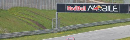 Freier fahren auf dem Red Bull Ring