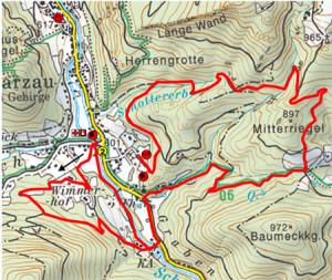Schneebergland-Rallye: Strecke