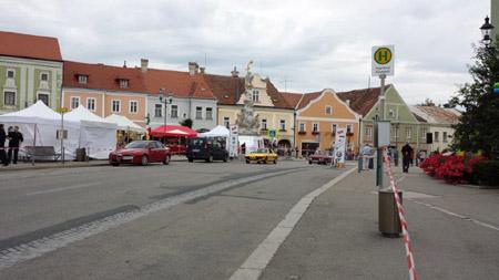 Viva Italia 2014: Stadt-Grand Prix rund um den Hauptplatz in Eggenburg