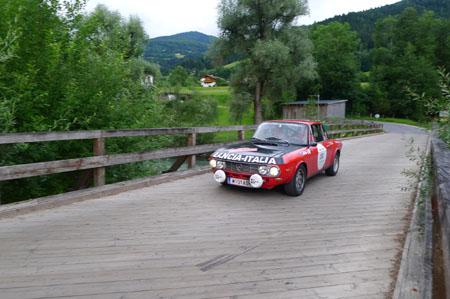 """Der beste """"gleichmäßige"""" Lancia: Ehepaar Mischka - Fulvia 1600 HF"""
