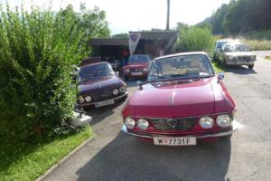 S2 Lancia Fulvia Coupé Restaurierung: Frontansicht