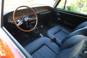 S2 Lancia Fulvia Coupé Restaurierung: Innenraum