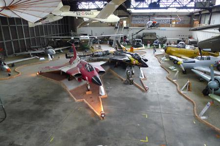Fliegerhorst Hinterstoisser Hangar 8, Außenstelle des Heeresgeschichtlichen Museums