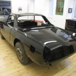 Lancia Flaminia Restaurierung: Lackierte Karosserie hinten
