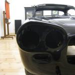Lancia Flaminia Restaurierung: Lackierte Karosserie Scheinwerfer vorne