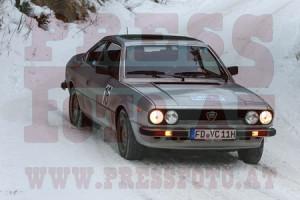 Winterrallye Steiermark 2015: Leise und elegant auf Platz 4 gefahren!