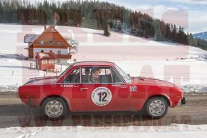 Winterrallye Steiermark 2015: Postkarten-Idylle - dafür kamen sie alle in die Steiermark, aber ...