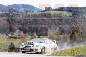 Winterrallye Steiermark 2015: ...aber am zweiten Fahrtag, war nicht mehr viel vom Winter zu sehen!