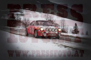 Winterrallye Steiermark 2015: Eine einmalige Pretiose auf dem Weg zur Rallye Monte Carlo Historique