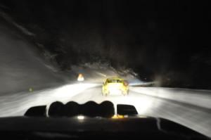 Rallye Monte Carlo Historique 2015: Auf verschneiten Wegen...