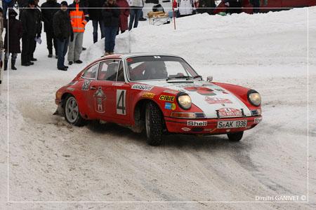 Gerard Larrousse' Porsche 911 S, Zweiter hinter Munari 1972