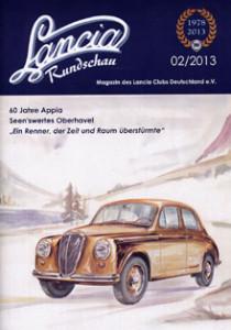 Lancia Club-Magazine Ende 2013: Lancia Rundschau