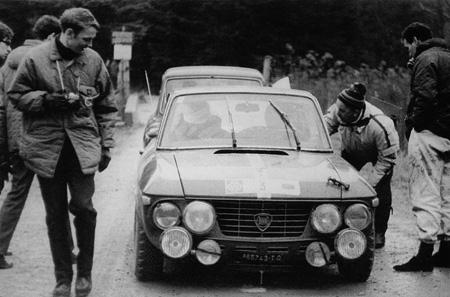 RAC Rally 1968: Aaltonens nahes Ende - Motorschaden (Foto T. Gardiner)